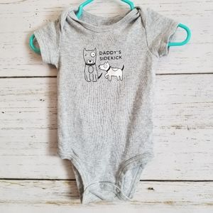 Daddy's Sidekick T-shirt with Snap Closure